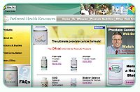 Official Web Site for Peenuts - Prostate Cancer Prevention Supplements